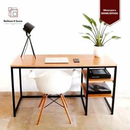Mesa com prateleiras* escrivaninha* para computador
