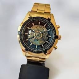 Relógio Automático esqueleto