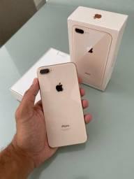 iPhone 8 Plus apple 64GB, usado todos acessórios, com garantia Apple