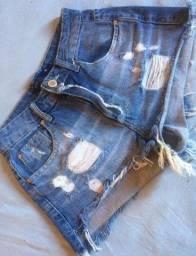 Short Jeans Blue Steel