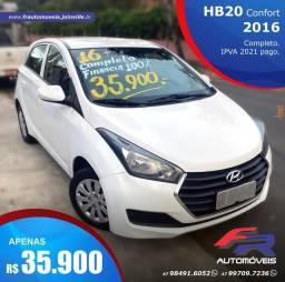 HB20 2016 COMFORT 35.900,00