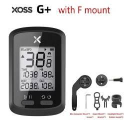 GPS E VELOCÍMETRO XOSS PARA BIKE (com ou sem suporte S) lacrado