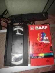 Conversão de fita vhs para dvd