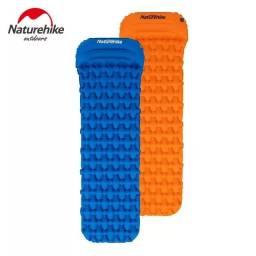 Isolante térmico inflável naturehike FC-12 (Com travesseiro)Novo