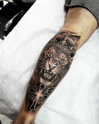 Tattoo/Fechamento perna como essa da imagem por até 300$