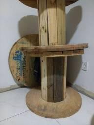 Carretel madeira
