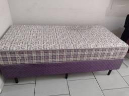 Vendo ou troco cama de solteiro usada