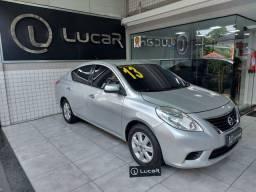 (*60x 810,00) Nissan Versa SV 1.6 Couro Completo