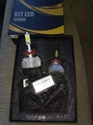 Kit led silver OR Parts novo troco por som