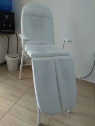 Cadeira para pedicure ou podóloga