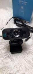 Webcam 1080P FULLHD com microfone embutido/ Preço Imbatível