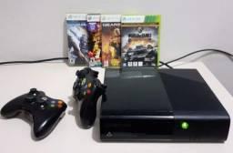 Xbox 360 super slim+26 jogos