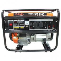Gerador VG8100 Gasolina 4 tempos Vulcan