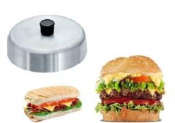 abafador de hamburguer  - derretedeira de queijo manual no bafo