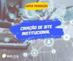 Criação de Site Institucional Profissional