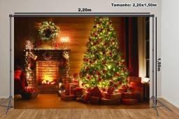 Fundo fotografico de Natal