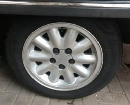 Jogo rodas Omega com pneus (LEIA)