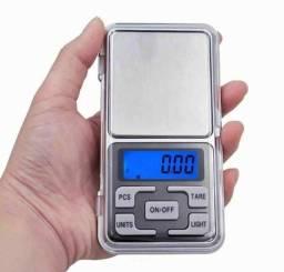 Balança de precisão pesa de 0,01g a 500g
