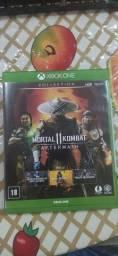 Vendo jogo x box one MOTAL KOMBAT 11 AFTERMATH