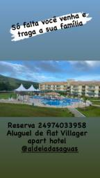 Flat no aldeias das aguas -aluguel diária