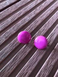 Brinco rosa