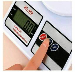Balança Portátil Digital Cozinha, pesa até 10kg