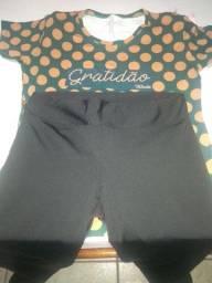 Dessapego dessa blusa  e dessas Legg está novo blusa usei uma vez só