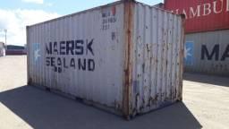 Container 20 pés 6 metros