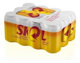 Cerveja Skol Pilsen 350ml - Pack 12 latas