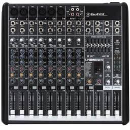 Mesa de Som Mackie ProFX12 + Case