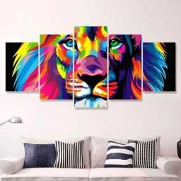 Quadro Leão de Judá 115x60cm