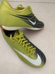 Chuteira Nike mercurial futsal nº 39