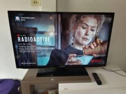 TV LED 40 Polegadas Samsung com Chromecast 2