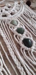 Wall hanger quartzo verde