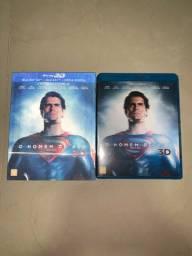 DVD Blu-ray 3D O Homem de Aço