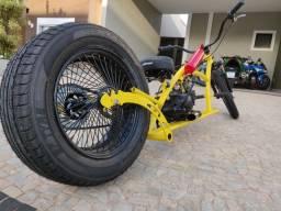Bicicleta motorizada Chopper Custom