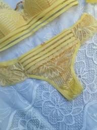 Conjunto de lingerie de luxo