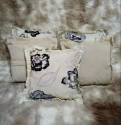 Kit de 5 Lindas almofadas para decorações e etc