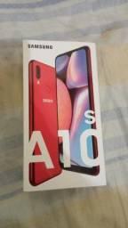 Samsung A10S vermelho