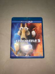 DVD Blu-ray 3D A Era do Gelo 3