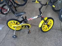 Bicicleta masculina aro 16 restaurada