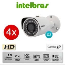 Câmera Intelbras Ip Vip S3020 G2 - Novo