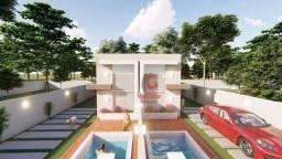 Excelente Casa Duplex com 2 Quartos Sendo 1 Suíte à venda, 62 m² por R$ 285.000 - Bosque d