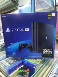 PS4 Pro Top,10x Sem Juros,Pegamos Outros Games!