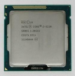 I3 3220 3.3ghz processador 3 geração lga 1155 com grafica integrada