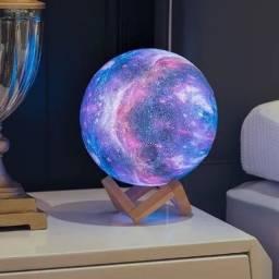 Luminária Planetária 3D