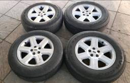 Rodas 17* com pneus