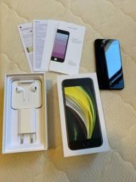 ### IPhone SE 2, 256gb, preto, na garantia ###
