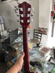 Guitarra Les Paul Condor - CLP-1 laranja com vermelha