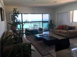 Apartamento para aluguel, 4 quartos sendo 3 suítes, 3 vagas, beira mar em Boa Viagem